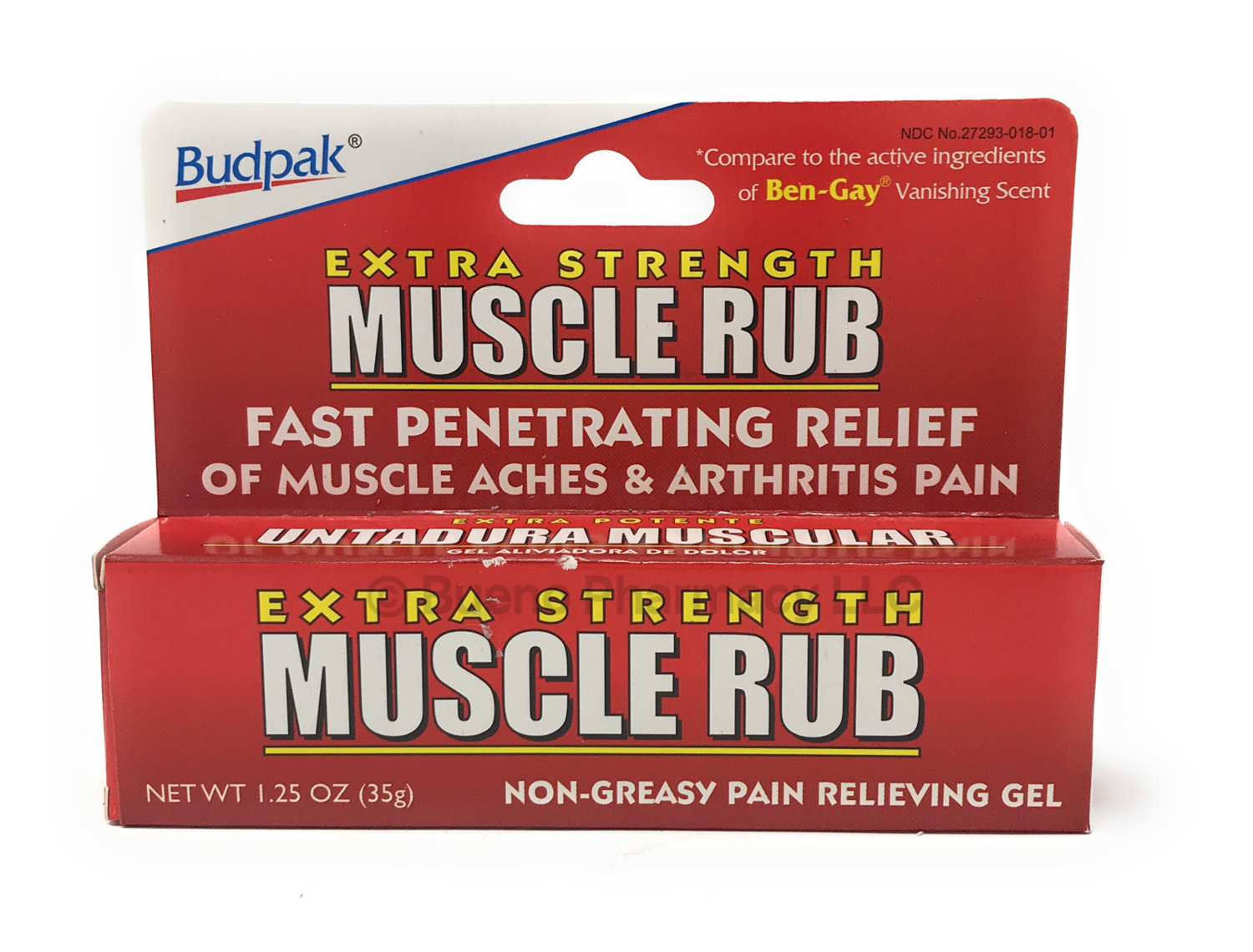 Extra Strength Muscle Rub (Compare To Ben-Gay)