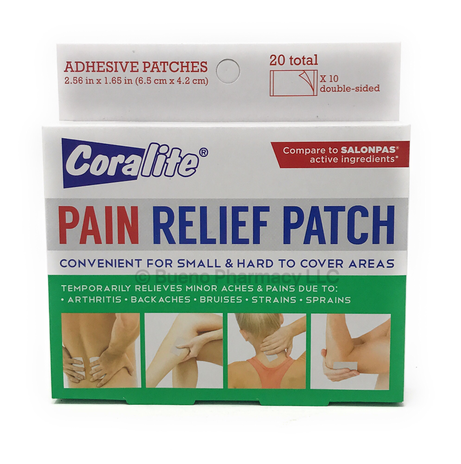 PAIN RELIEF PATCHES SMALL 20 Patches