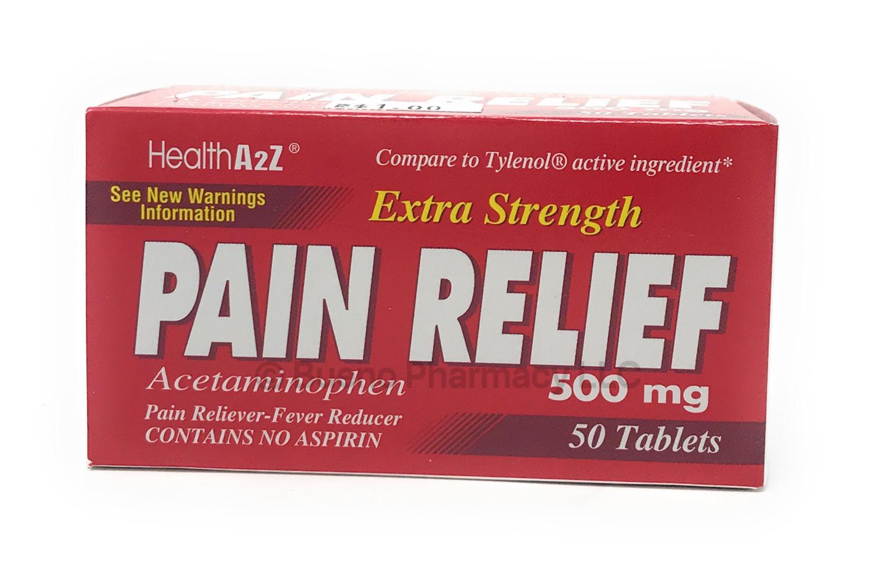 Extra Strength Acetaminophen 500 Mg