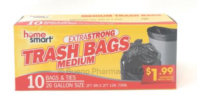 TRASH BAG 26 GALLON 10PCS