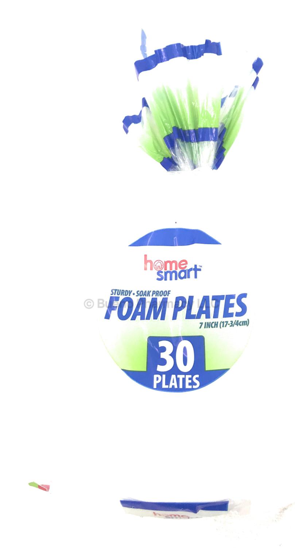 "Foam Plate Home Start 7"" 30PCS"