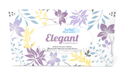 FACIAL TISSUE ELEGANT 160 SHEET