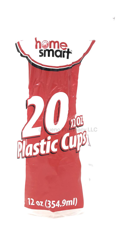 20 (12oz) Plastic Cups