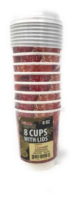 CUPS HOT/COLD 8PCS SV 8 OZ