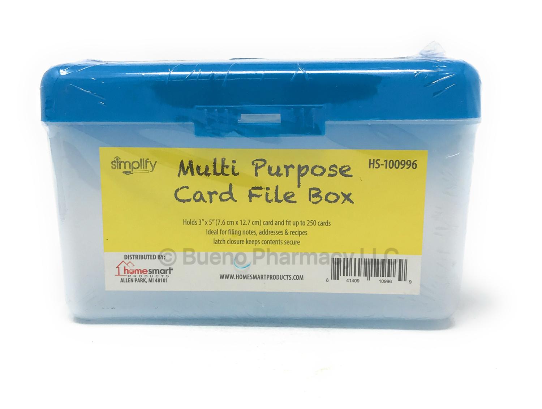 MULTI PURPOSE BOX CARD