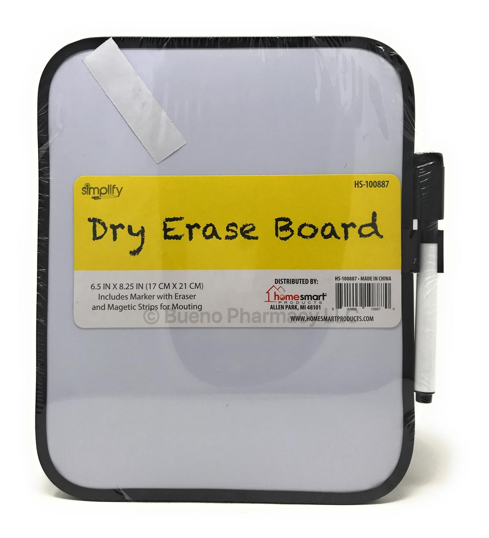 DRY ERASE BOARD W/ MAKER SIMPLIFY