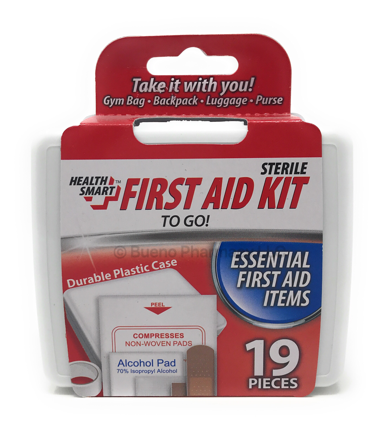 FIRST AID KIT H.S. 19PCS
