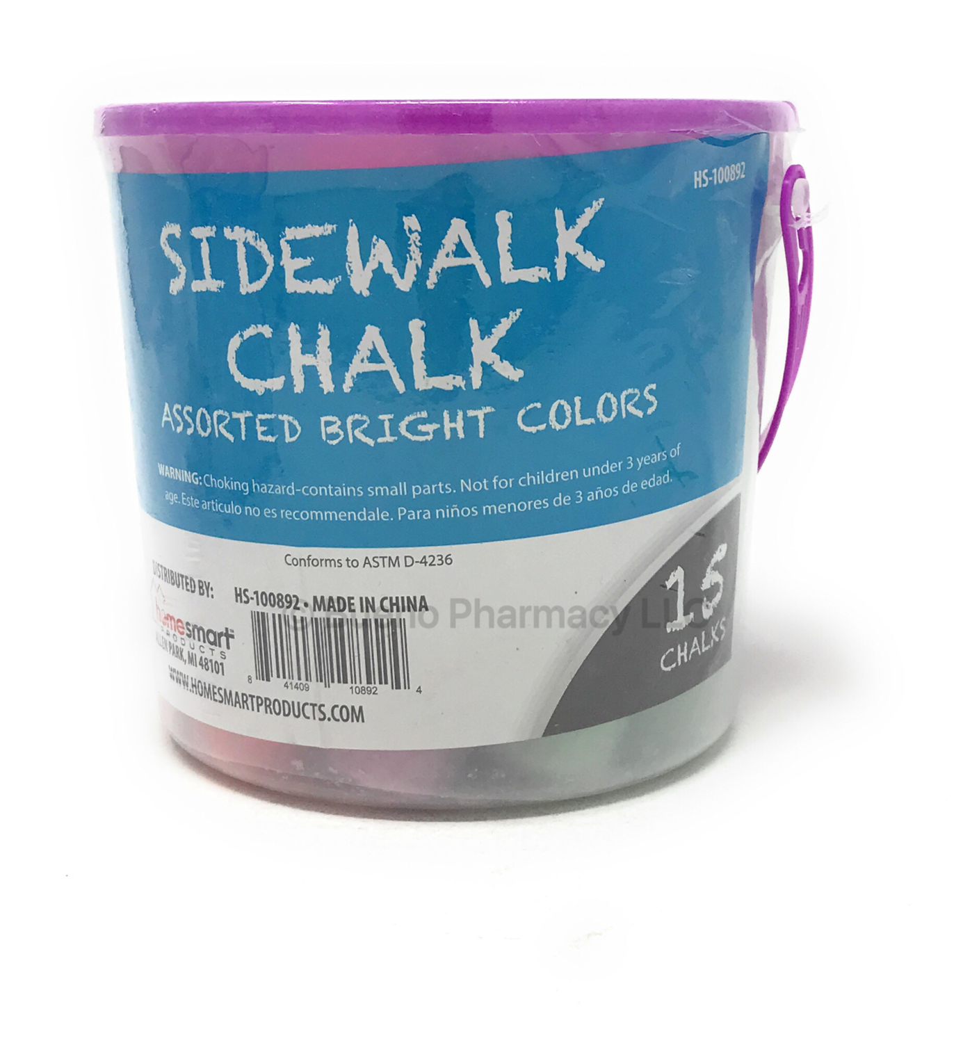 JUMBO COLORED CHALK SIMPLIFY 15PK