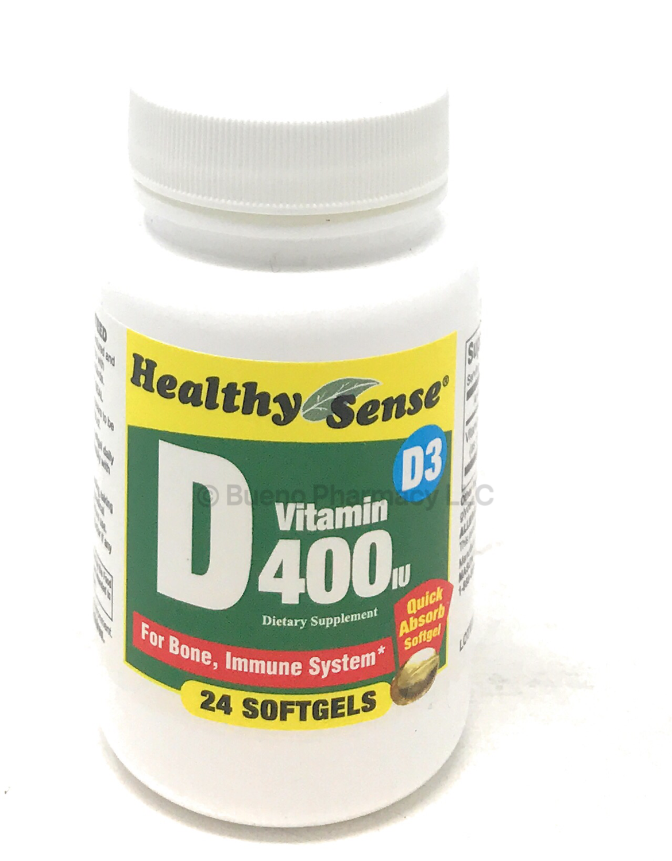 Vitamin D3 400 IU 24 softgels