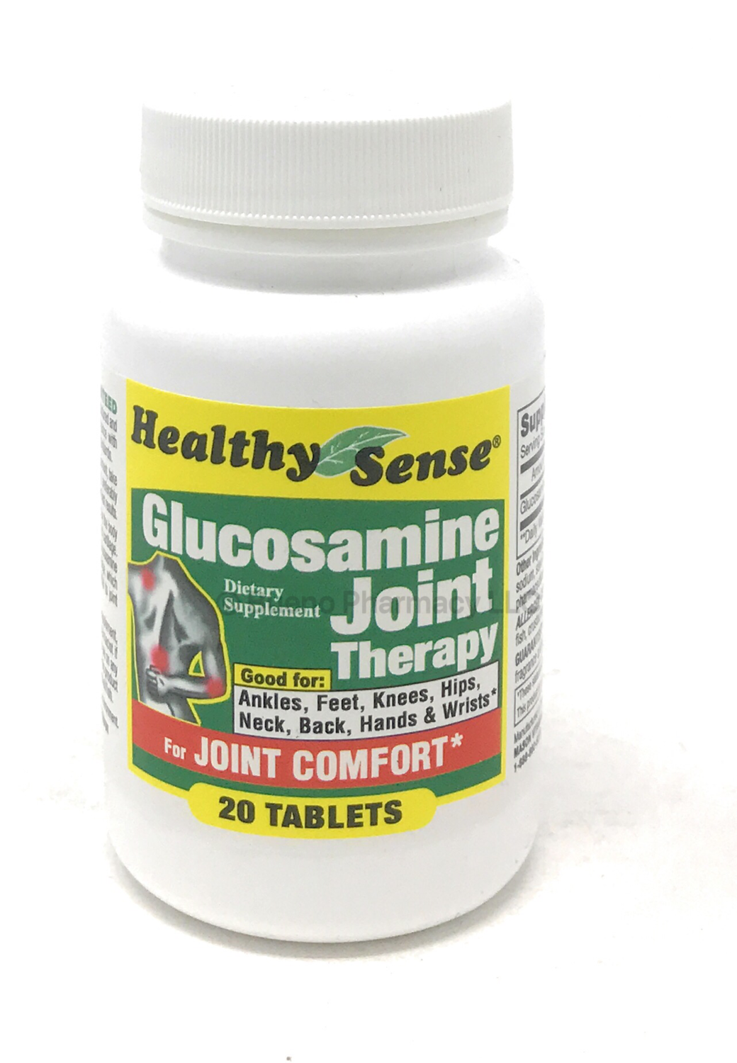 Healthy Sense Glucosamine Joint Therapy 500 mg (20 Tablets)