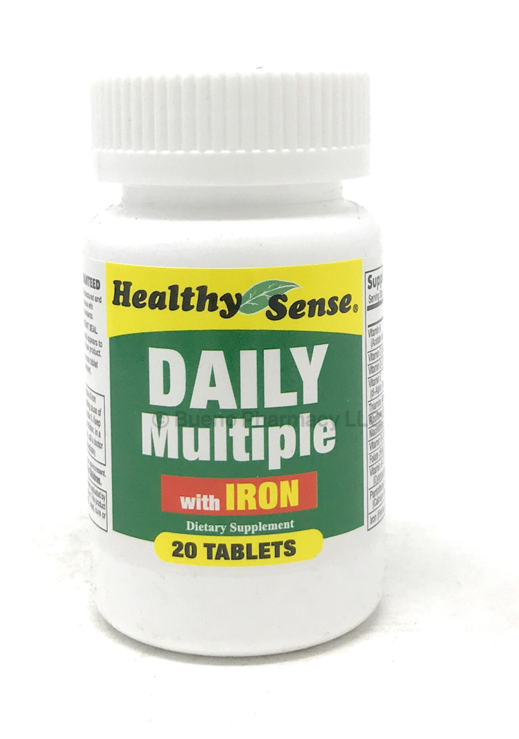 Daily Multi Vitamin With Iron 20 Tab