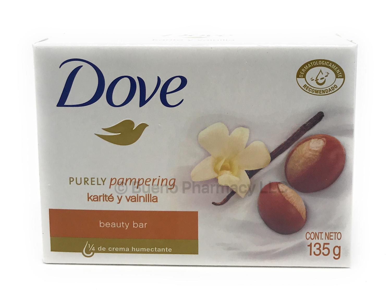 DOVE BAR SOAP Keratin & vanilla