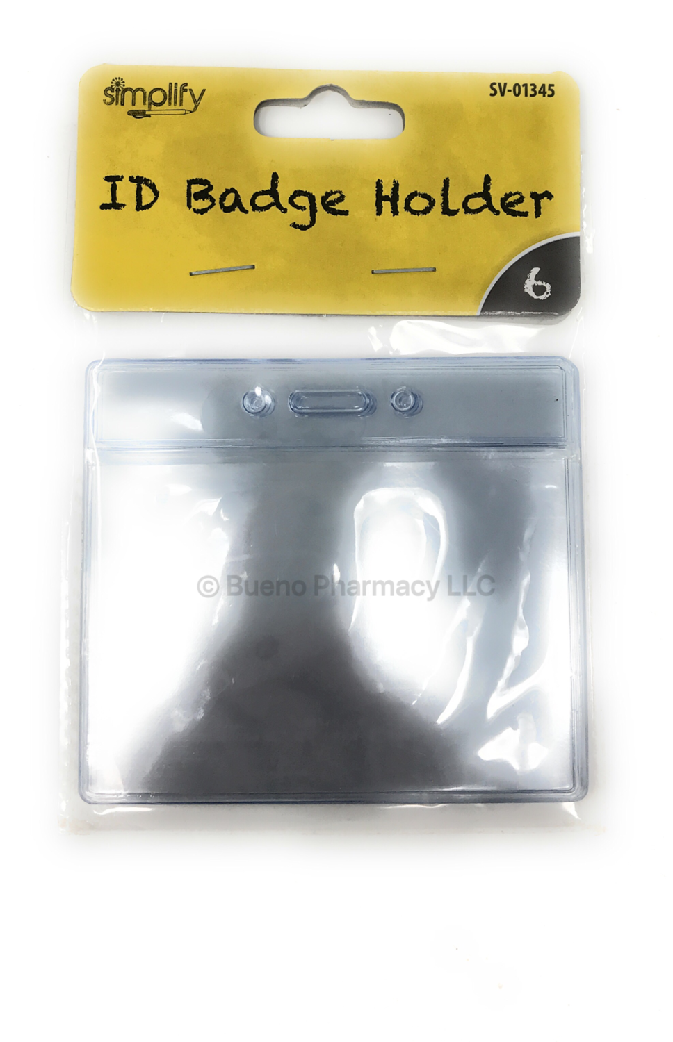 6pcs Badge Holder