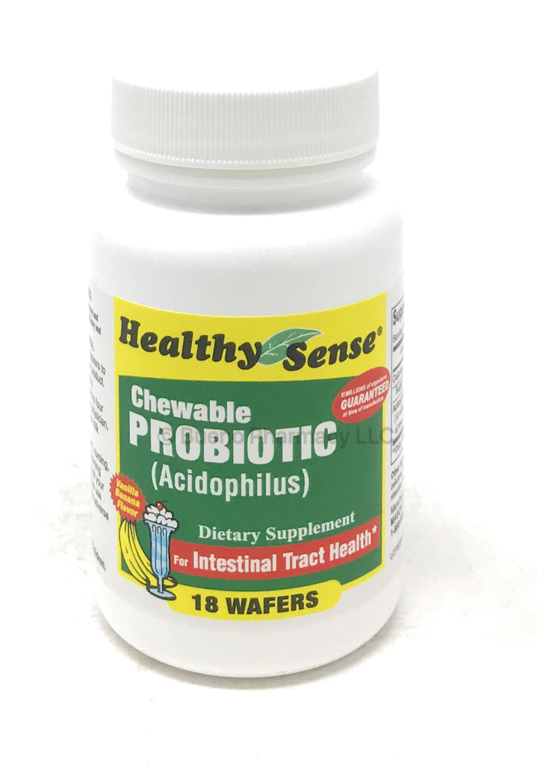 Healthy Sense Chewable Probiotic (acidophilus) 18 Wafers