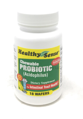 Chewable Probiotic (acidophilus) 18 wafers