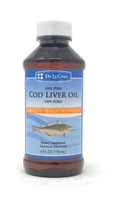 Cod Liver Oil/ Aceite de higado de Bacalao