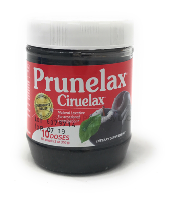Prunelax Jam  5.3 oz