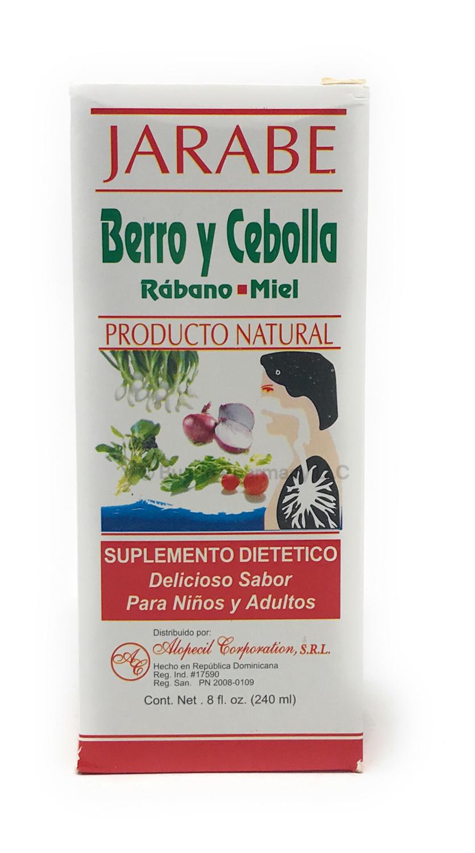 Alopecil Jarabe Berro y Cebolla 8oz
