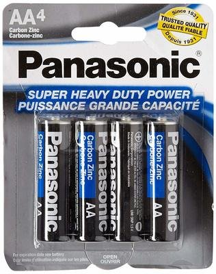 Batteries Panasonic AAA 4 Pack