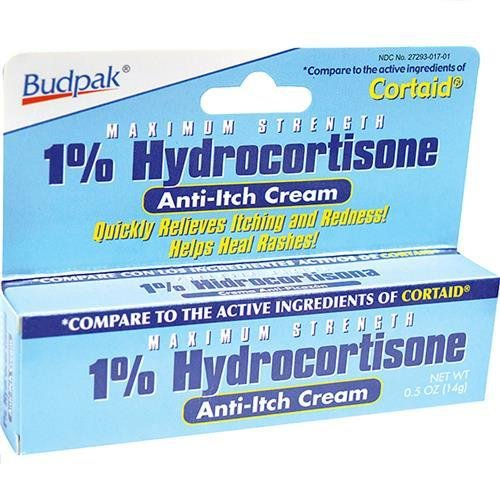 Hydrocortisone Cream 1% 0.5 Oz (14 G)