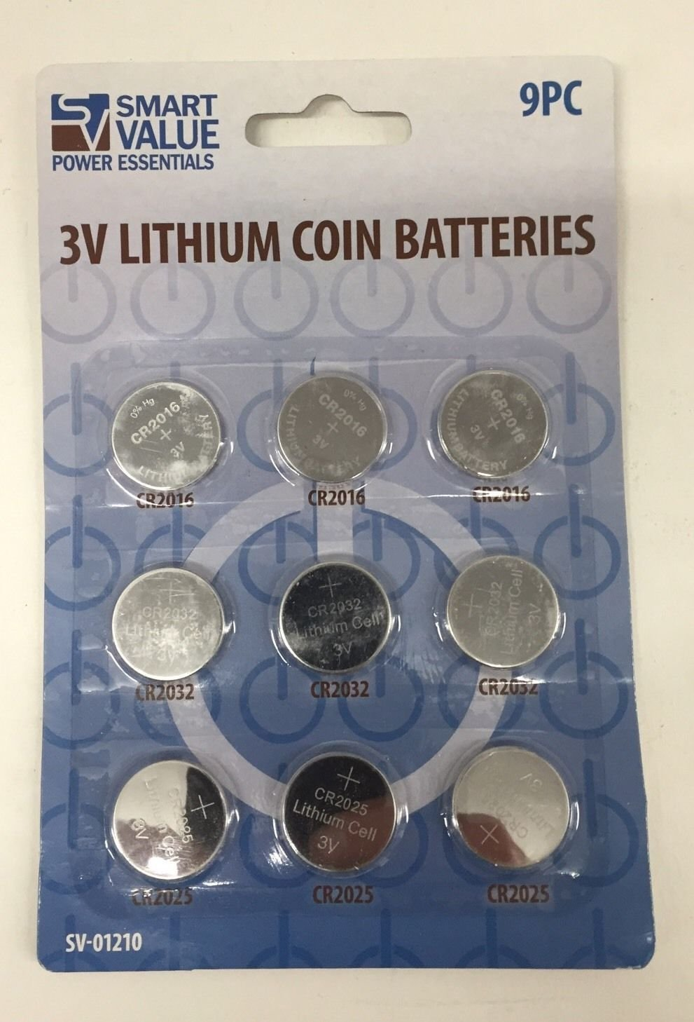 3 V Lithium Coin Batteries