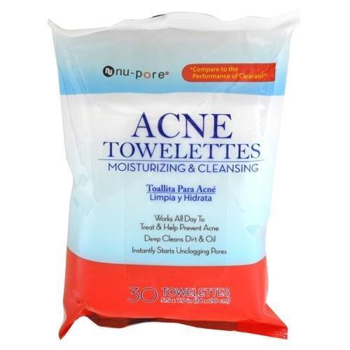 Nu•pore Acne Towelettes
