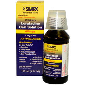 Loratadine Oral Solution 5mg/5ml Antihistamine