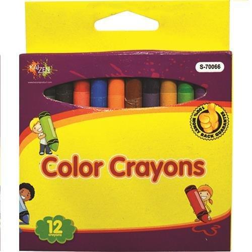 Color Crayons 12