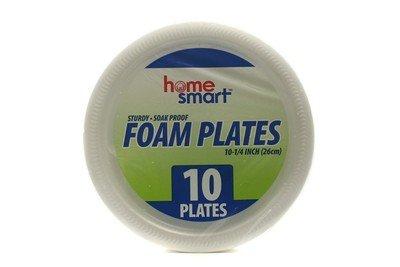 FOAM PLATES HOME SMART 10.25