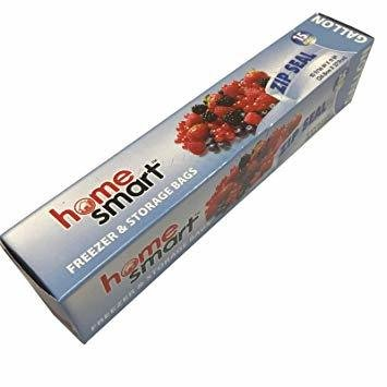 FREEZER ZIP BAG GALLON H.S. 15 COUNT