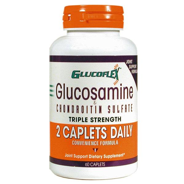 Glucoflex Glucosamine & CSA 2 A DAY    60 Caplets
