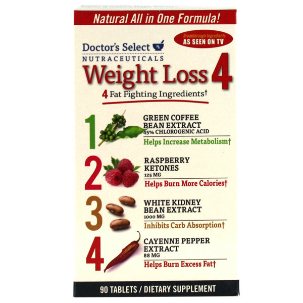 Doctor's Select  Weight Loss 4   90 Tablets