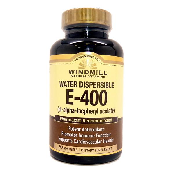 E-400 I.U.  Water Dispersible 90 Softgels