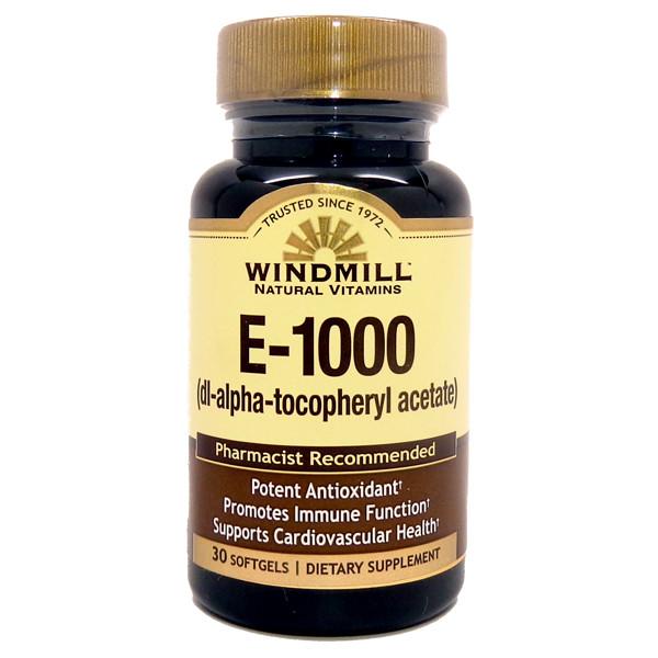 E-1000 I.U.   30 Softgels