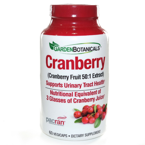 Garden Botanical Cranberry     60 Vegicaps