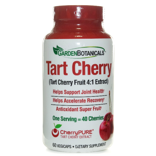 Garden Botanical Tart Cherry   60 Vegicaps