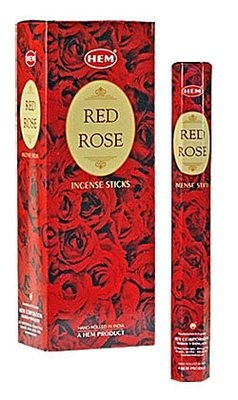 Red Rose Incienso