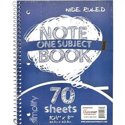 Subject One Note Books (70pages)