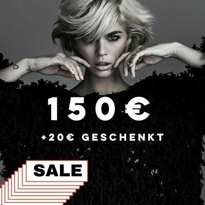 170€ Mehrwert-Gutschein