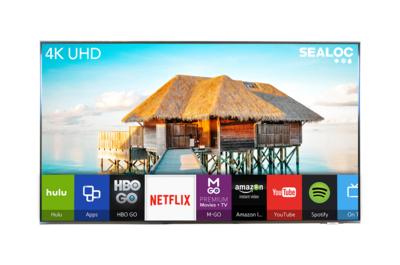 """55"""" Sealoc Lanai Samsung Q70A QLED Series"""