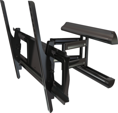 Full Motion Outdoor TV Mount with Dual Locks
