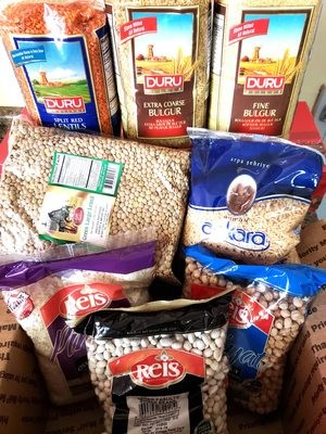 Turkish Dry Food Gift Pack 7+1 Mixed with Free shipping