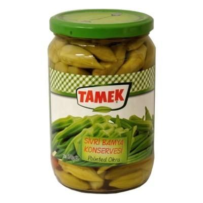Tamek Okra Pointed (glass) 720ml Bamya