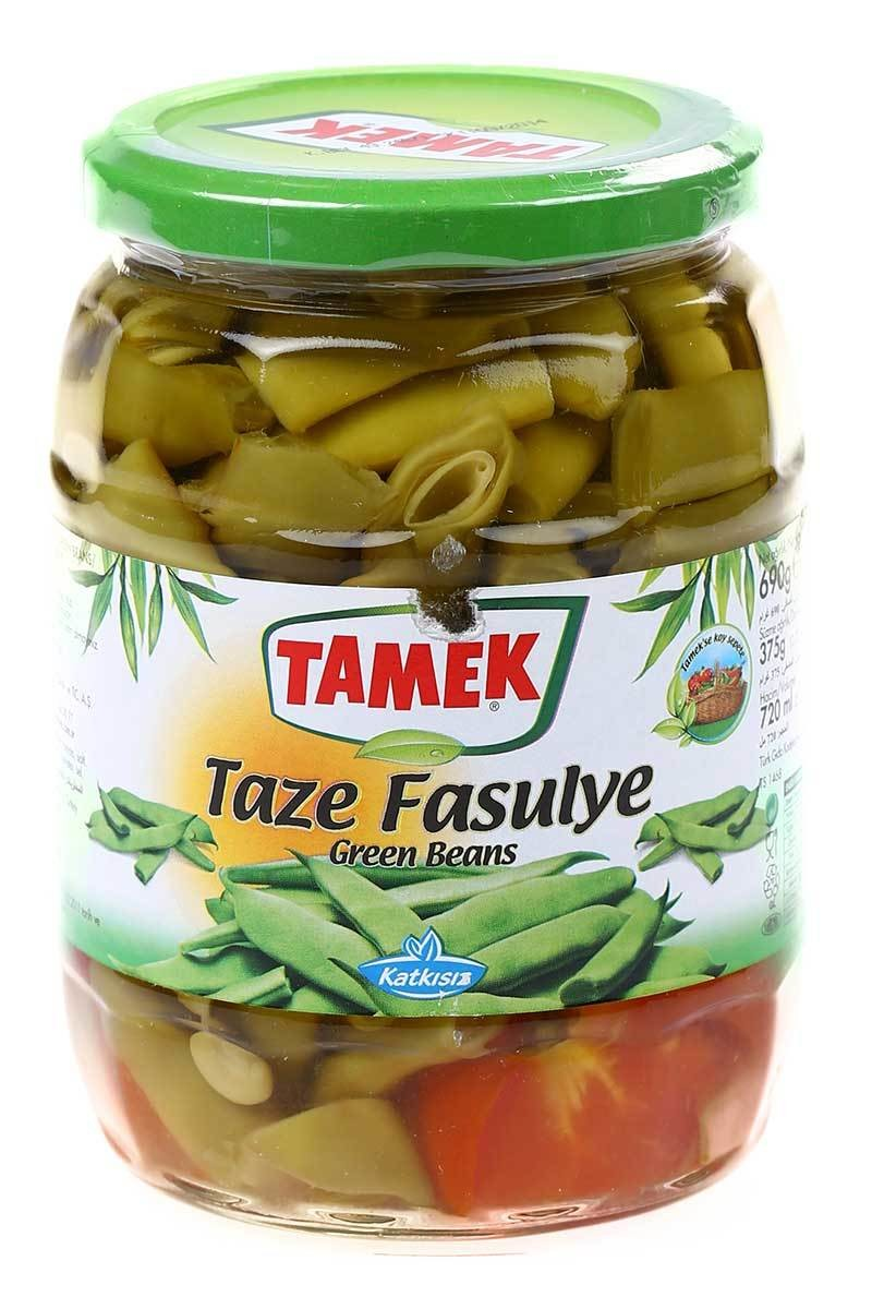 Tamek Green Beans (Taze Fasulye) (glass) 720ml