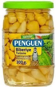 Penguen Biberiye Turşusu Peppers Pickles Isot 300gr