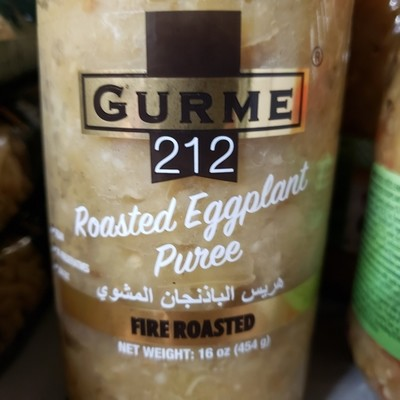 Gurme 212 Roasted Eggplant 454gr