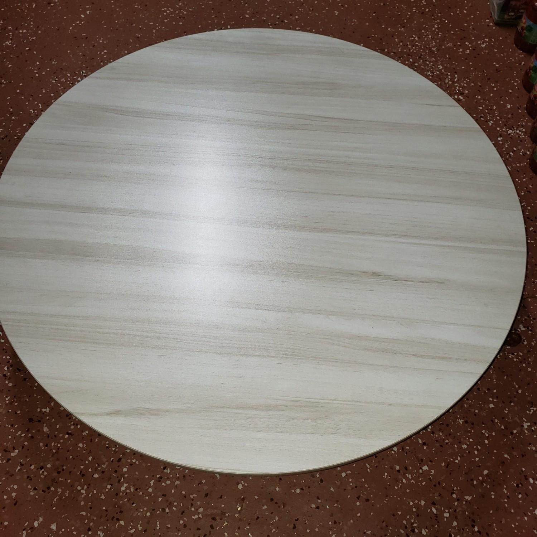 Yer Sofrasi - Sofra ROUND FLOOR TABLE WOOD 60 CM