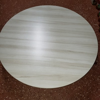 Yer Sofrasi - Sofra ROUND FLOOR TABLE WOOD 60 CM