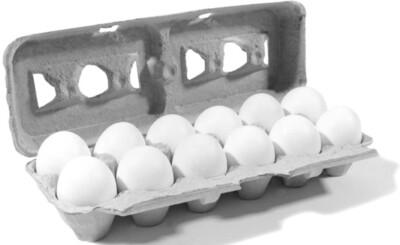 Organic Medium Cage Free Eggs 12 pcs