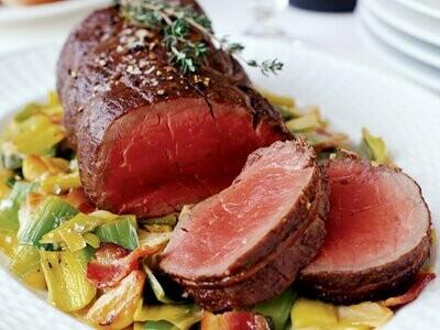 Halal Standard Grade Beef Tenderloin (Boneless) ~6 lb